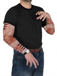 Zombie Ärmel Wunden Halloween