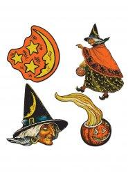Deko-Set Hexe Halloween