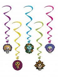 Sprial-Aufhängung Dia de los Muertos Halloween