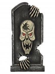 Grabstein Dekoration Skelett 90 x 44,5 x 4 cm