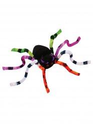 Riesen-Spinne biegbar Halloween-Deko bunt 51cm