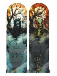 Wechselbild beängstigende Nacht Halloween 94 x 29 cm
