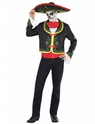 Dia de los Muertos Kostüm Herren Halloween