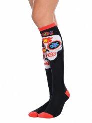 Socken Dia de los Muertos Erwachsene