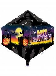 Gruseliger Folien-Ballon Halloween für Kinder Party-Deko bunt 43x53cm