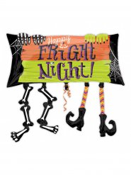 Fright Night Halloween-Ballon Party-Zubehör bunt 83x76cm