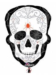Dia de los muertos-Folienballon Halloween Partydeko bunt 45x61cm