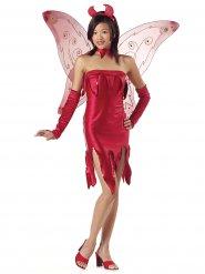 Teufel-Kostüm für Teenager rot