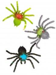Deko Spinne aus Gummi 15 x 10 x 2 cm
