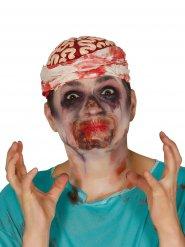 Verschlossener Mund Halloween-Spezialeffekt für Erwachsene rot
