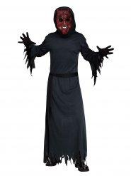 Dämon der Nacht Halloween-Kostüm für Herren schwarz-rot