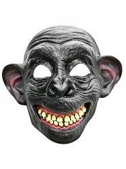 Psycho-Affenmaske Halloween Kostümzubehör grau