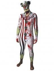 Blutiges Clown-Kostüm Erwachsene Morphsuits™ Halloween
