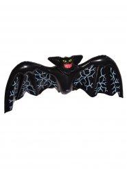Aufblasbare Fledermaus Halloween-Raumdekoration schwarz 130x41cm