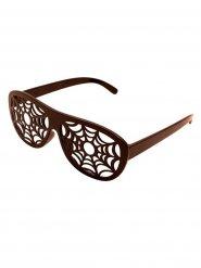 Spinnennetz-Brille für Halloween