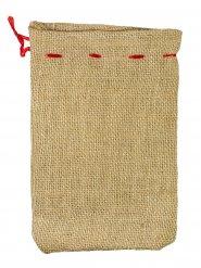 Geschenke-Beutel Weihnachten beige 22x15cm