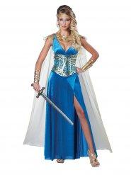 Mittelalterliche Kriegerin - Kostüm für Damen