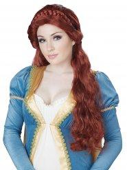 Mittelalterliche Prinzessin Perücke Damen