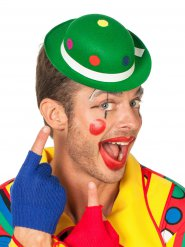 Miniatur-Melone Clown gepunktet grün-bunt