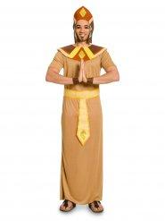 Antikes Pharao-Kostüm für Herren beige-braun