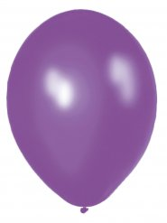 10 metallic lila Luftballons 30 cm