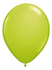 10 grüne Luftballons 30 cm