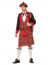 Schotten Kostüm rot Herren