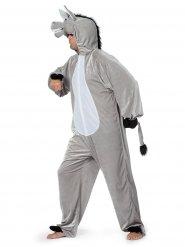 Esel Kostüm grau Erwachsene