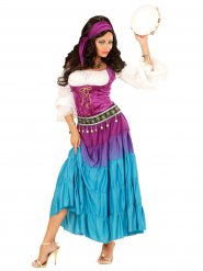 Kostüm Zigeunerin bunt