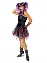 Punk-Rocker Kostüm Tutu Damen