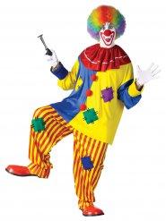 Rotes Clown-Kostüm Erwachsene