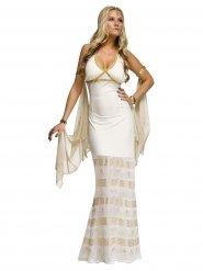 Antike-Göttin Kostüm für Damen Griechin weiss-gold