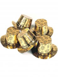 Zylinder gold Frohes Neues Jahr