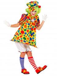 Bunten Zirkusclown Kostüm für Damen