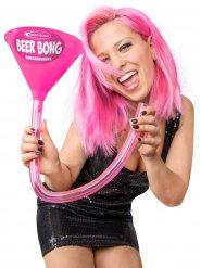 Biertrichter 70 cm Headrush Beerbong® JGA pink-grau