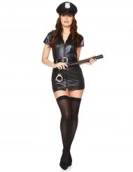 Polizistin sexy Kostüm für Damen