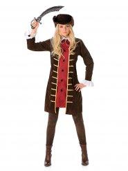 Piraten Mantel für Damen
