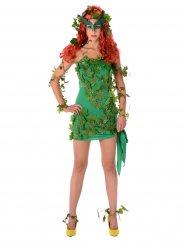 Bösewicht Kostüm sexy grün Damen