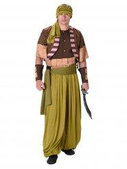 Wüsten-Krieger Kostüm für Herren Orient grün