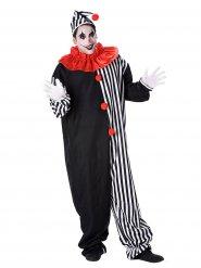 Clown Kostüm Harlekin für Erwachsene