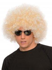 Riesen-Afro Perücke 70er blonde