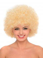 Afro Perücke 70er Jahre blond