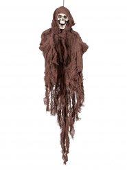 Skelett Dekoration braun Halloween 90 cm