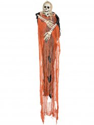 Halloween Sensenmann orange Skelett 112 cm