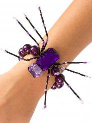 Armband Spinne Schleier 13 cm
