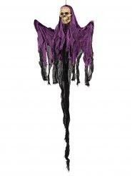 Skelett Hängedko Halloween violett 122 cm