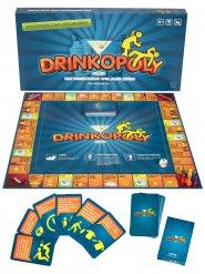 Drinkopoly Trinkspiel für 6 Personen 47 x 47 cm