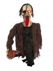 Animierte Zombie Dekofigur 16 x 107 x 82 cm