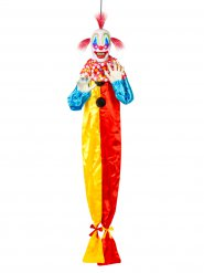 Animierte bösen Clown suspendiert Halloween 153 cm