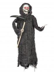 Halloween-Dekoration animierte Mähmaschine 46cm
